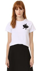 Marc Jacobs Classic Tee Ivory Multi