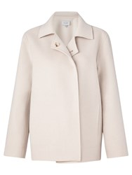 Jigsaw Double Faced Swing Jacket French Clay