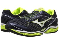 Mizuno Wave Enigma 5 Ombre Blue White Safety Yellow Men's Running Shoes Black