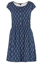Tom Tailor Denim Summer Dress Total Eclipse Blue Dark Blue