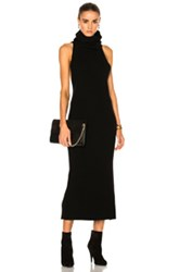 Soyer Halter Dress In Black