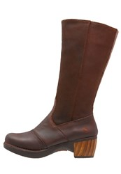 Art Zundert Platform Boots Brown