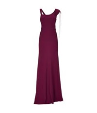 Maria Grachvogel Layla Chain Trim Gown Red