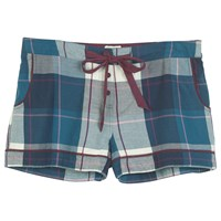 Fat Face Tidworth Check Short Navy