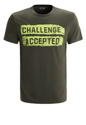 Your Turn Active Sports Shirt Dark Green
