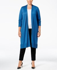 Alfani Plus Size Knee Length Cardigan Only At Macy's Global Blue