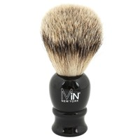 Min New York Silvertip Shave Brush Black