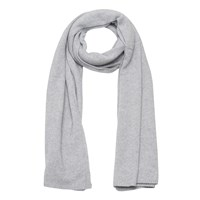 French Connection Cashmere Blend Scarf Light Grey Mel