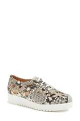 Aquatalia By Marvin K 'Abilene' Sneaker Women Beige