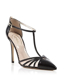Sjp By Sarah Jessica Parker Pumps Carrie Cage High Heel Black
