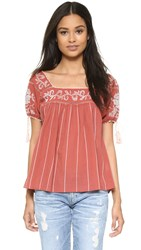 Ulla Johnson Lila Blouse Sienna