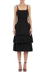Thom Browne Women's Faille Dress Black Size 4 Us