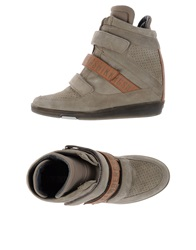 Dirk Bikkembergs High Tops And Trainers Grey