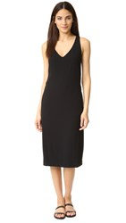 Dkny Cross Back Dress Black