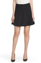 Women's Cece By Cynthia Steffe Crepe Flounce Skirt Rich Black