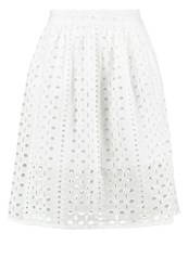 Miss Selfridge Petite Aline Skirt Cream White