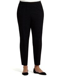 Lafayette 148 New York Track Pants W Piping Women's Black