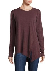Wilt Heathered Long Sleeve Tunic