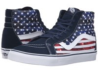 Vans Sk8 Hi Reissue Americana Dress Blues True White Skate Shoes