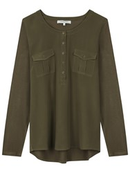 Gerard Darel Faye T Shirt Dark Green