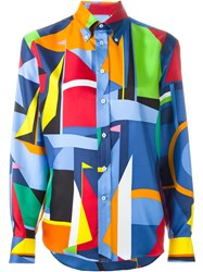 Ralph Lauren Black Label Ralph Lauren Black Geometric Print Shirt Multicolour