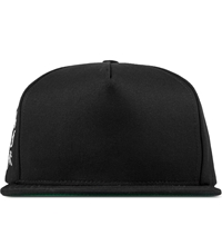 Huf Black Cross Snapback Cap