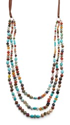 Chan Luu Kylie Necklace Multi Mix