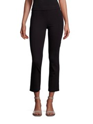 Tory Burch Stacey Cropped Flared Pants Black