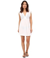 Lauren Ralph Lauren Farrah Dress Cover Up White Women's Swimwear