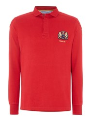 Howick Signature Long Sleeve Rugby Shirt Red