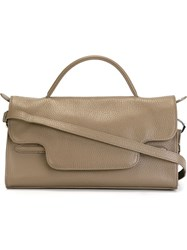 Zanellato Small 'Nina' Tote Grey