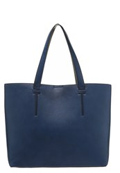 Evenandodd Tote Bag Navy Grey Dark Blue