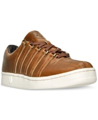 K Swiss Men's Classic 66 Horween Casual Sneakers From Finish Line English Tan French Roast