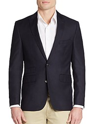 Vince Camuto Slim Fit Wool Sportcoat Navy