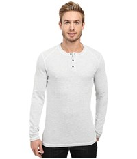 Agave Essex Long Sleeve Brushed Twill Natural Men's Long Sleeve Pullover Beige