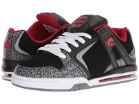 Osiris Pxl Black Red Men's Skate Shoes