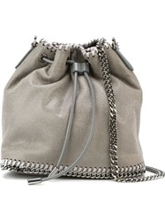 Stella Mccartney 'Falabella' Bucket Tote Grey