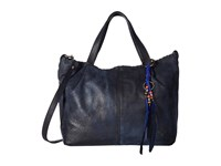 Patricia Nash Zola Top Zip Tote Satchel Navy Satchel Handbags