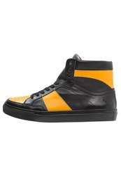 Boom Bap Doctor Rocket Hightop Trainers Black