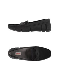 Swims Moccasins Black