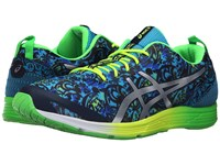 Asics Gel Hyper Tri 2 Dark Navy Silver Green Gecko Men's Running Shoes Blue