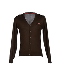 Roberto Pepe Cardigans Dark Brown