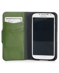 Polo Ralph Lauren Kelly Green Pebbled Leather Phone Case Kelley Green