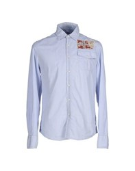 Napapijri Shirts Shirts Men Sky Blue
