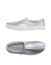 Stefanel Footwear Low Tops And Trainers Women Silver