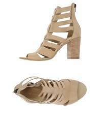 Le Stelle Footwear Sandals Women Beige