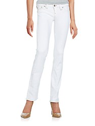 True Religion Straight Leg Jeans White