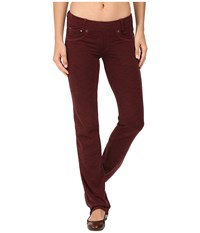 Kuhl M Va Straight Fit Pants Syrah Heather Women's Casual Pants Red
