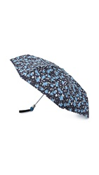 Marc By Marc Jacobs Brush Tops Umbrella Electric Blue Multi