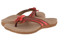 Aetrex Selena Thong Sandal Coral Women's Toe Open Shoes